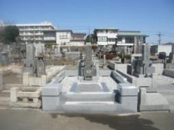 2011年2月~3月 公営墓地にて 改修工事