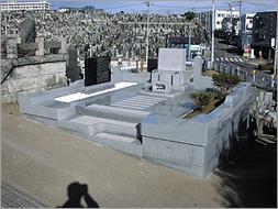 2003年10月~12月 公営墓地にて リフォーム工事