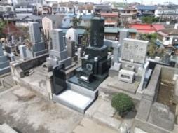 2012年1月~2月 公営墓地にて 新規工事