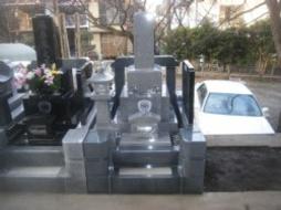 2010年1月~2月 寺院墓地にて 全面新規工事