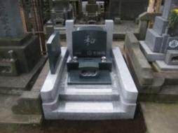 2009年9月~10月 寺院墓地にて 全面新規工事