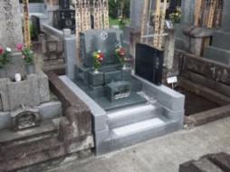 2006年2月~3月 寺院墓地にて 全面新規工事