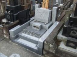 2005年5月~6月 寺院墓地にて 全面改修工事