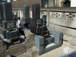 2007年1月~2月 寺院墓地にて 改修工事