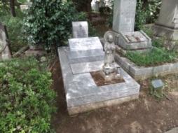2012年4月~5月 墓地にて 改修工事