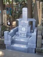 2010年6月~7月 寺院墓地にて 全面新規工事