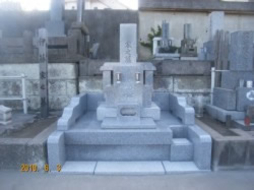 2007年7月~8月 公営墓地にて 改修工事