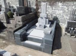 2011年7月~8月 公営墓地にて 改修工事