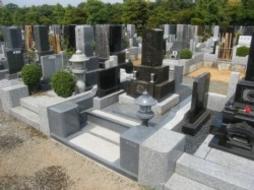 2008年4月~5月 公営墓地にて 改修工事