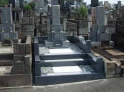 2009年4月~6月 公営墓地にて 改修工事