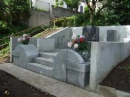 2008年2月~5月 家墓地にて 全面改修工事