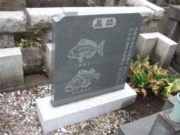 2007年6月 公営墓地にて 彫刻工事