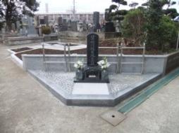 2012年1月~3月 寺院墓地にて 有縁墓