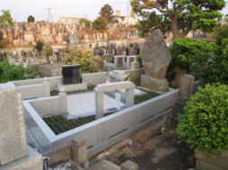 2004年10月~翌年3月 寺院墓地にて 改修工事